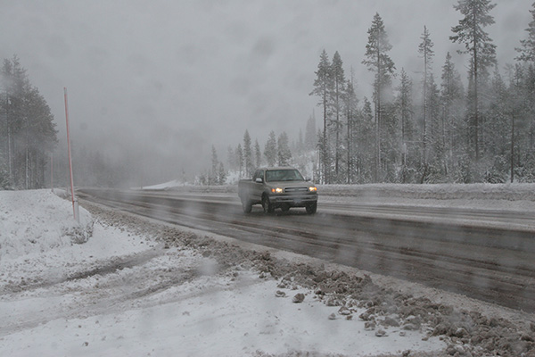 Winter highway survival kit ideas