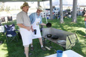 "The Pantenburg Brothers Cooking Team has never been beaten in Dutch Oven competition, in the ""having fun"" category."
