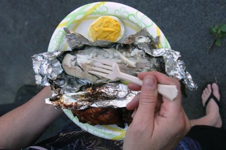 Survival recipe video: How to cook trout in foil over a