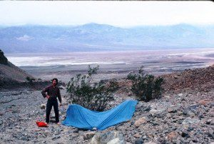 John Nerness took this photo of me in Death Valley National Monument in 1977.