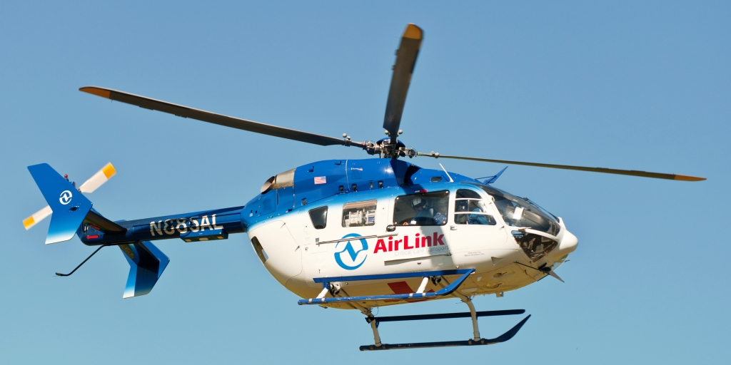 Airlife helicopter