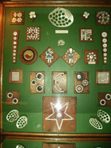 Button display (Muscatine Art Center photo)