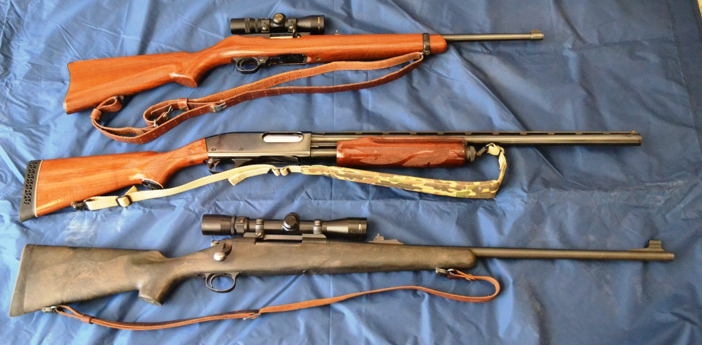 These three long guns are good, reliable choices for the beginner with no experience.