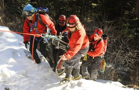 A Search and Rescue team can't do its job until they know where to start looking. (Blake Miller photos)