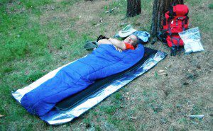 I love sleeping out under the stars. While I will not use my tarp or tent, I won't forgo my Downmat 7!