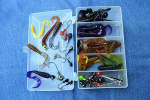 This pocket-sized box holds all the lures I need for a day of smallmouth bass fishing on Oregon's John Day River.