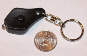 Check out this survival LED light for a keychain!