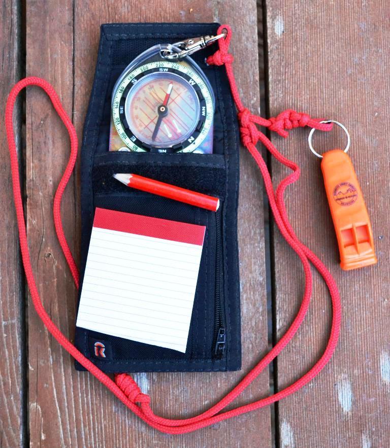 I always carry a pencil and notebook in my compass setup. (Pantenburg photos)