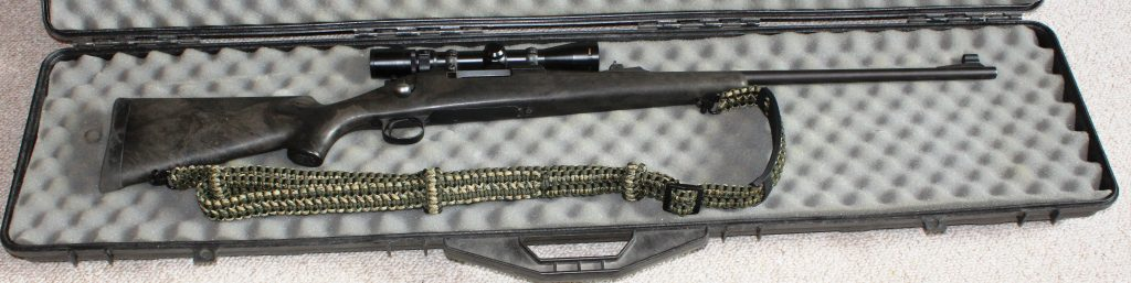 The Ridge Runner paracord sling fits well on my 7 mm Magnum Remington 700. The sling is interchangeable with many of firearms. (Pantenburg photos)