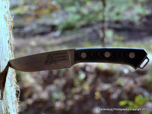 The Bark River Fox River knife. I used this knife for a couple months, and found it was a good product