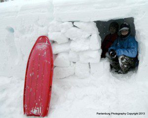Winter camping requires a whole different set of survival skills. This snow cave makes a good emergency shelter.