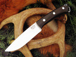The Fox River series is designed to be a hunting/survival knife.