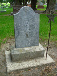 My great-great-grandfather, Pvt James Hallowell, Company A, 92nd Illinois Infantry, is buried in Ruthven, Iowa.