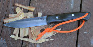 The Bark River Aurora is a knife designed for bushcraft, and it performs very, very well.