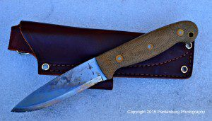 L.T. Wright GNS bushcrafting knife