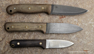 The L.T. Wright GNS, Genesis and Next Gen are all really good choices for a bushcraft, do-everything knife.