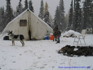 A wall tent may be the best choice for extended periods of camping or survival.