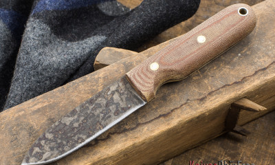The L.T. Wright Bushcrafter is an inexpensive, well-made bushcraft tool.