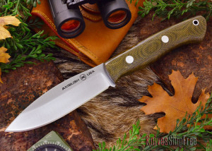 The Ambush Tundra combines a Canadian style blade with a Kalahari handle.