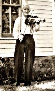 My great-grandfather, Charles Hallowell, sometime in the 1940s.