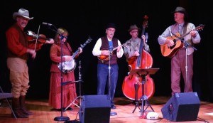 The Thorn Hollow String Band plays old time music at the High Desert Museum in Bend, Oregon.