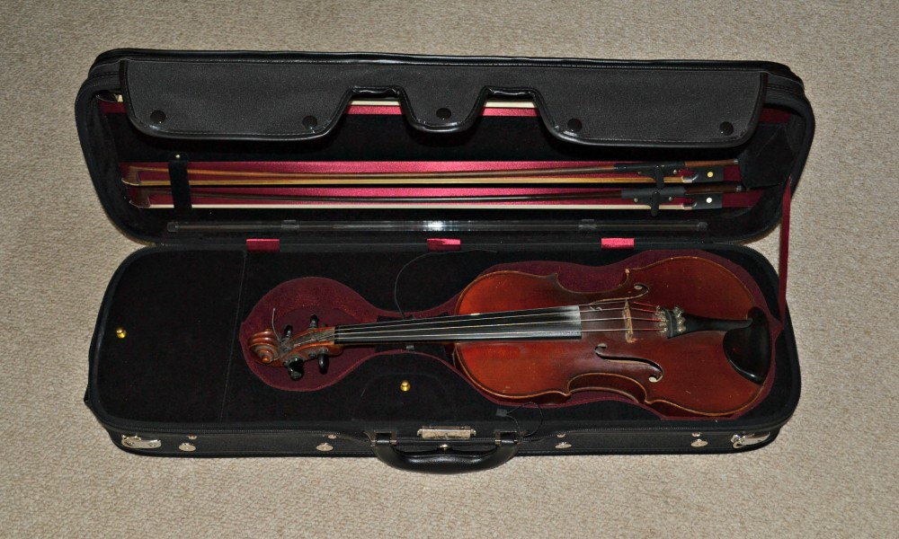 This violin from the 1930s was vital to a family's survival during the Great Depression.