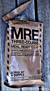 Meals Ready to Eat were developed by the military as an efficient ration.