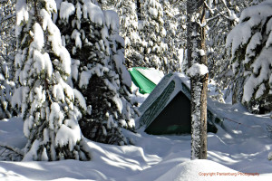 If there is several feet of snow on the ground securing tent stakes can be & How to stake down a tent securely in deep snow |