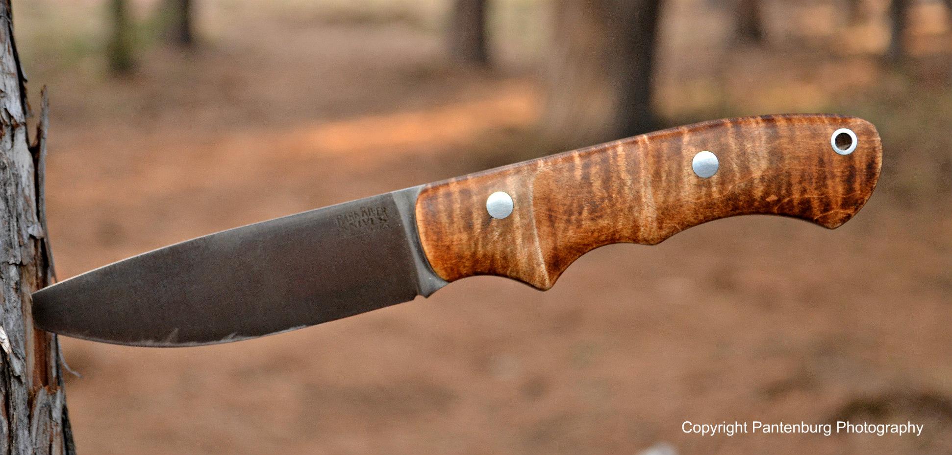 The Bark River Trakker Companion is designed for the smaller bushcrafting tasks.
