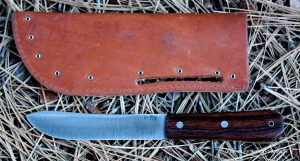 The Mountain Man needs a traditional sheath like this replica.