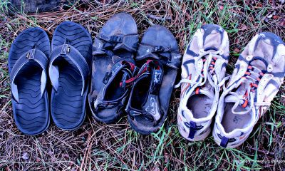 These flip-flops, river sandals and running/trekking shoes may all work as camp shoes.