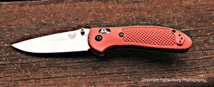 The Benchmade Griptillian is a sound choice for an all-around folding knife.