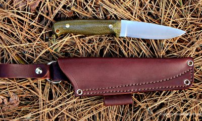 The L.T. Wright Rouge River is designed to be a do-it-all camp knife.