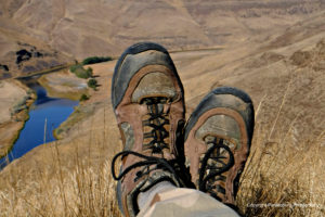 It's amazing how many people like this photo of my hunting boots!