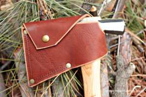 Huron hatchet sheath