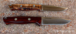 The Bravo/Gunny, bottom, takes some of its design from the Gunny