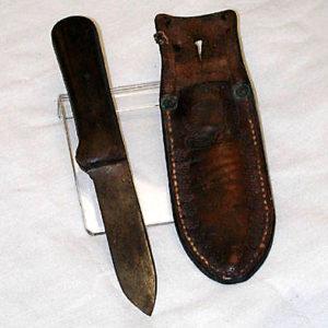 Horace Kephart's original knife.
