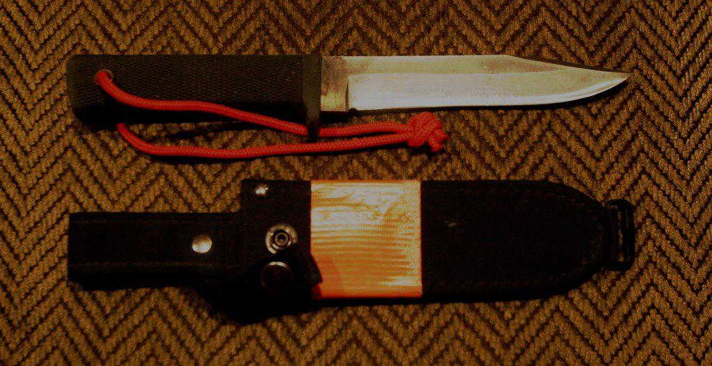 Cold Steel SRK, best survival knife, best hunting knife