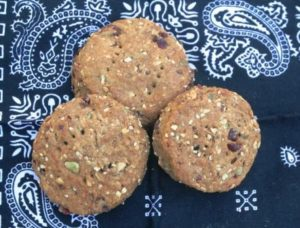 Mark's hardtack recipe is tasty and nutritious!