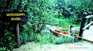 Mississippi River Headwaters, 1980 canoe trip