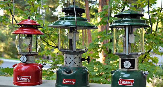 fix Coleman lanterns, repair Coleman gasoline lanterns