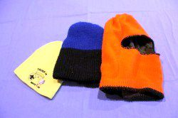 The correct style and material can determine if your stocking cap will be useful in specific situations. From left is a beanie, heavy wool/thinsulite winter cap, and a full-face knit reversible selection. (Pantenburg photo)