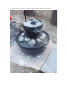 Cast iron camp ovens can sometimes be stacked to maximize the heat from the coals. (John A. Heatherly photos)