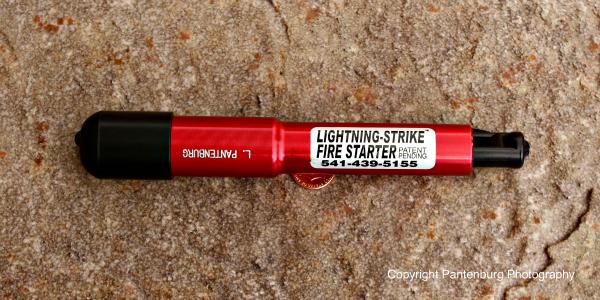 Lightning-Strike. survival fire starting