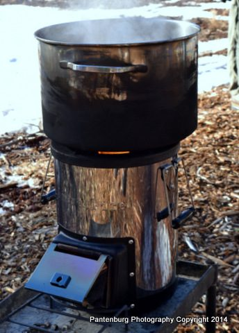 As a hardcore survival stove, i.e. one that will keep on functioning regardless of the circumstances, you can't beat one that's fueled with biomass. Here's one worth considering.