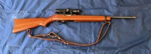 The Ruger 10/22 is a rugged, reliable .22 caliber semi-automatic rifle.