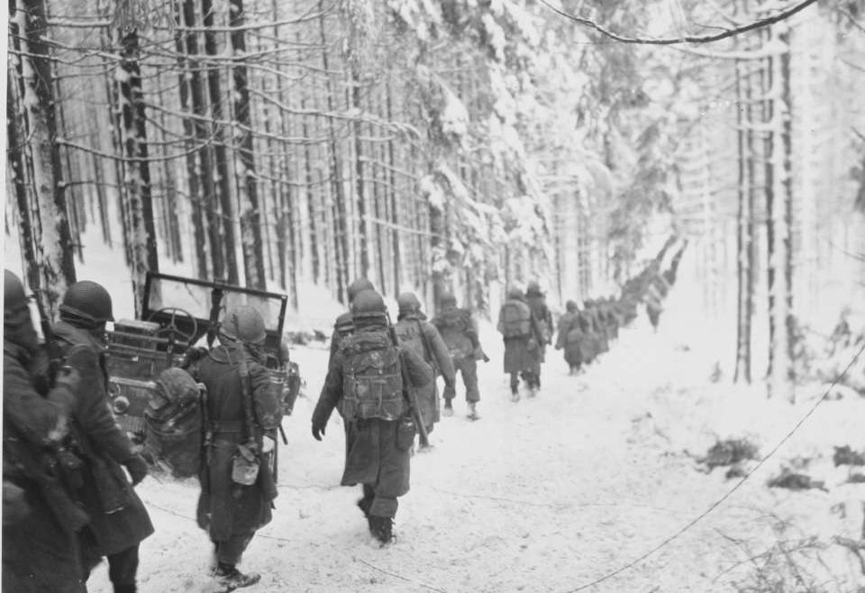 battle of the bulge, world war two, frances buck