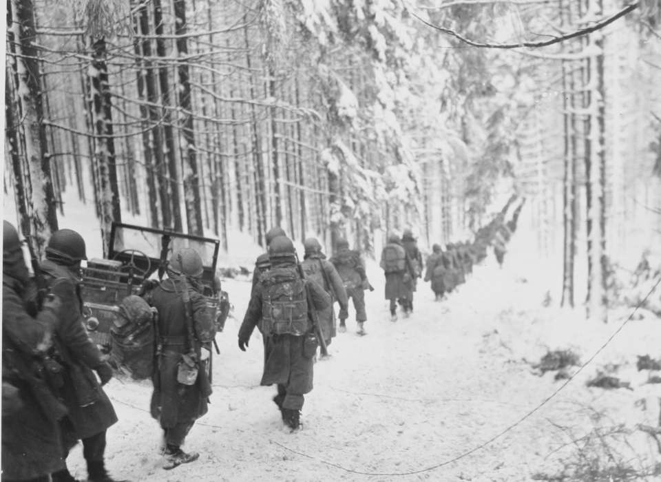 battle of the bulge, world war two, frances buck