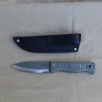 Condor Bushcraft knife has a micarta handle.