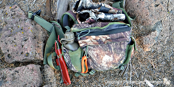what to carry in hunting daypack, hunting daypack, western big game hunting